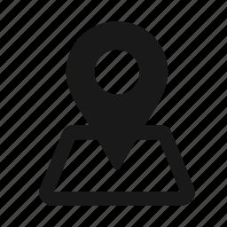 gps, localization, location, marker, navigation icon