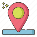 gps, location, map, marker, navigation icon