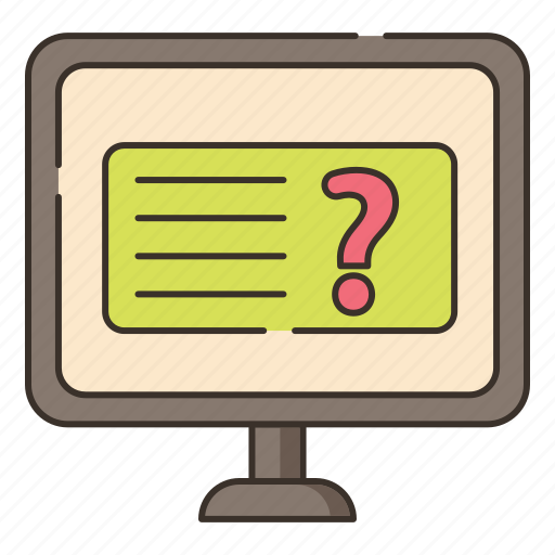faq, feedback, online, online question, question, questionnaire, suggestions icon
