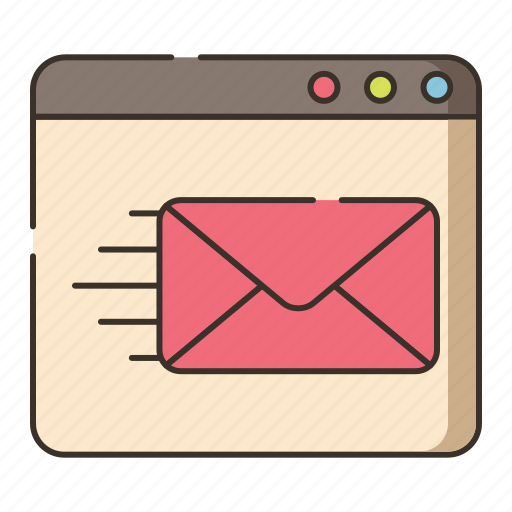 contact, deliver, delivery, email, mail, send icon