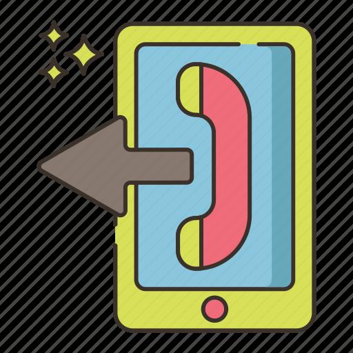 call, call forwarding, calling, phone call, sending icon