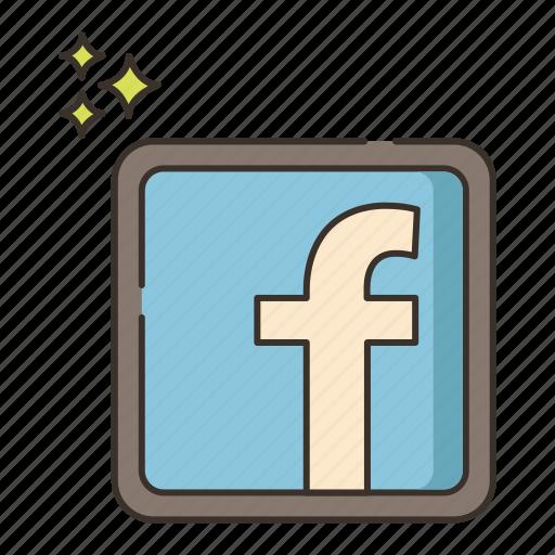 facebook, media, social, social media, social network, social networking icon