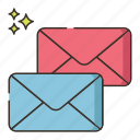 email, envelope, letters, mail, subscribe, subscription icon