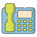 contact, hotline, landline, phone, telephone icon