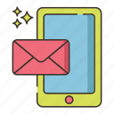 contact, email, mail, message, messaging, text, texting icon
