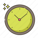 clock, hours, time, timing icon