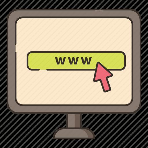 web, web page, website, www icon