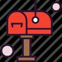 box, inbox, letter, post