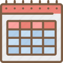 calander, communication, contact, contact us, date icon