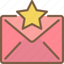 email, favourites icon