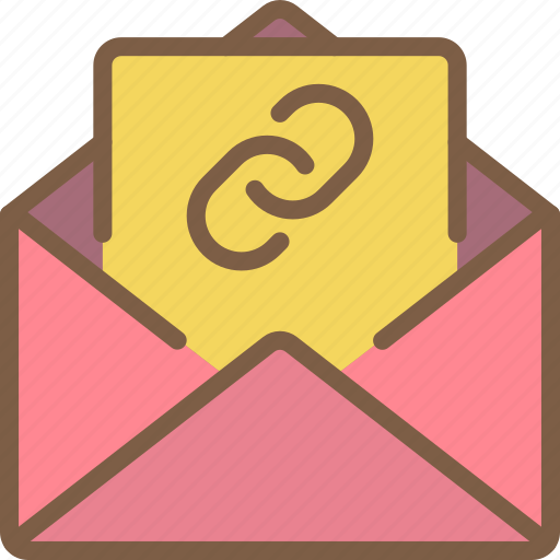communication, contact, contact us, link, mail icon