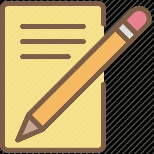 letter, write icon