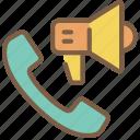 communication, contact, contact us, cta, phone icon