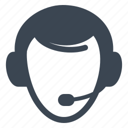 call center, contact us, customer service, customer support icon