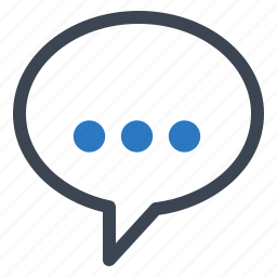 chat, contact us, customer service, speech bubble icon