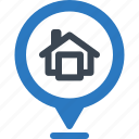 address, location, map pin icon
