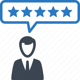 customer satisfaction, feedback, review icon