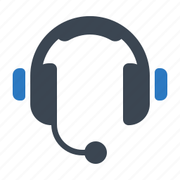 call center, customer service, customer support, headphones icon