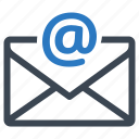 message, email, inbox icon