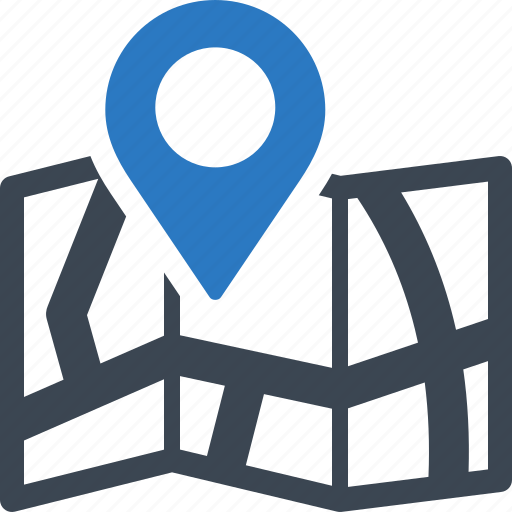 Direction, location, map icon - Download on Iconfinder
