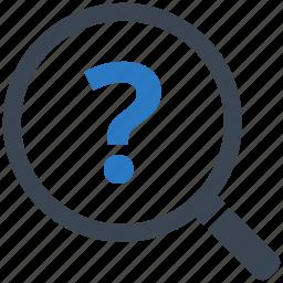 faq, information, question icon