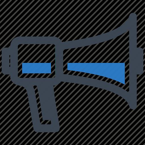 bullhorn, megaphone, news icon