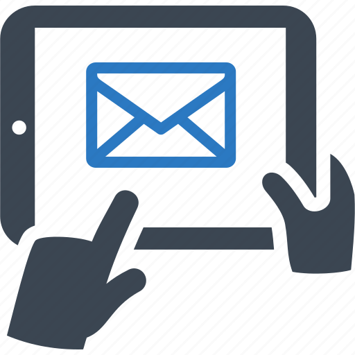 Customer support icon mail