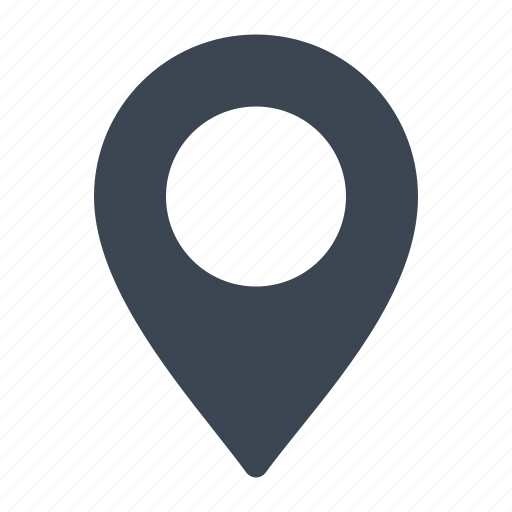 direction, location, map pin icon