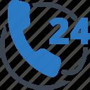 call us, contact us, non stop icon