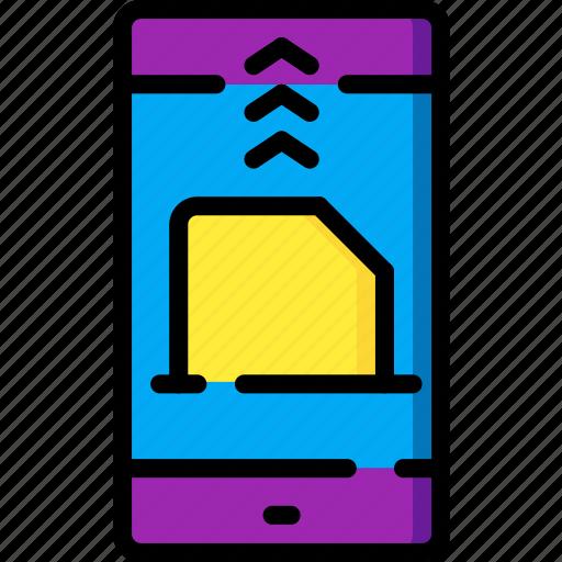 communication, contact, contact us, file, send icon