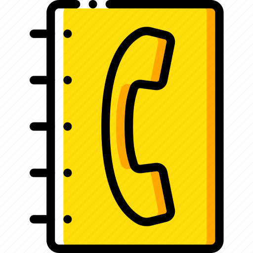 book, communication, contact, contact us, telephone icon