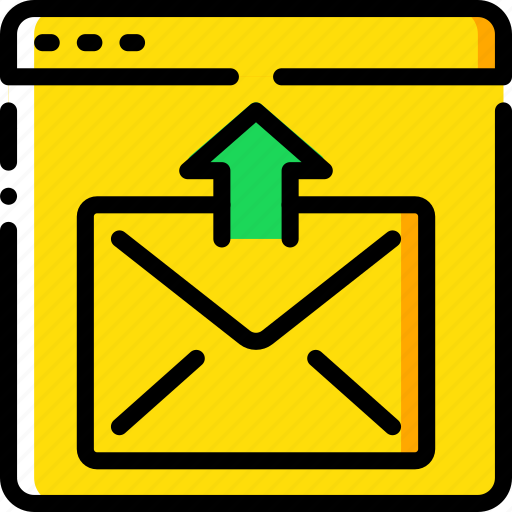 communication, contact, contact us, mail, send icon