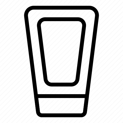 bottle, cleanser, container, liquid, tube icon