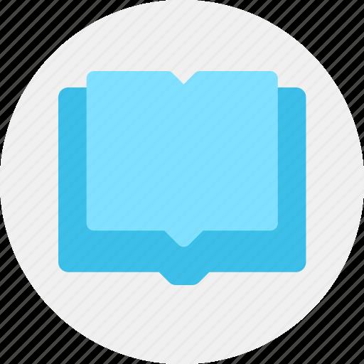 book, content, knowledge icon