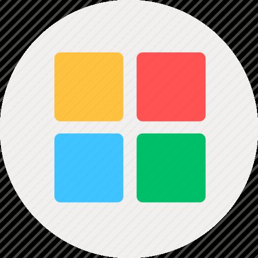content, directory, list, menu icon