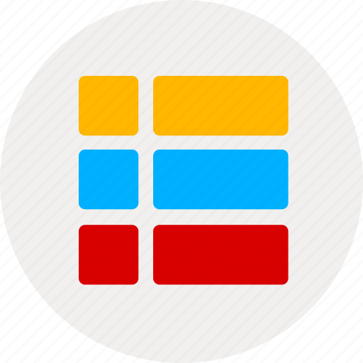 content, directory, list icon