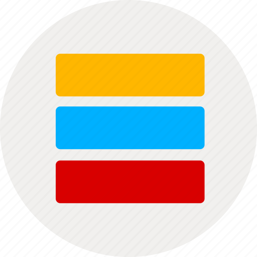 content, directory, display, list icon