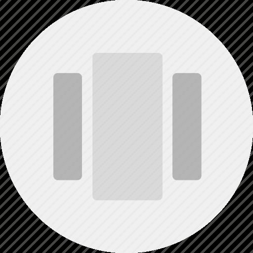 content, display, list icon