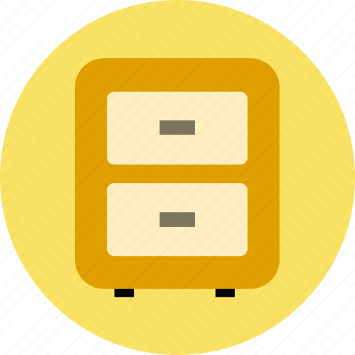 arhive, content, cupboard icon