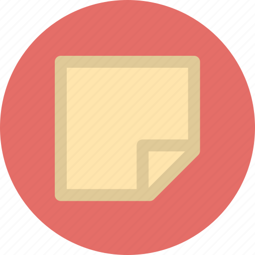 content, memory, note icon