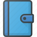 adress, agenda, book, contact, content icon
