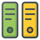 archive, archives, content, document, folder icon