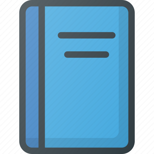 book, booklet, content, copywriting icon