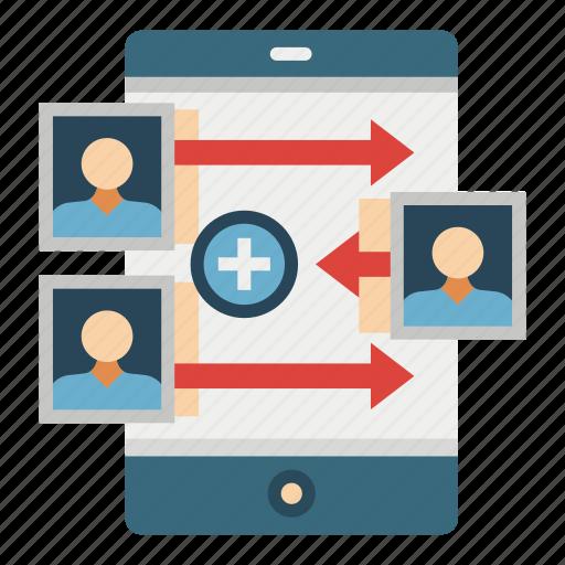 attraction, customer, inbound, loyalty, marketing, retention, traffic icon
