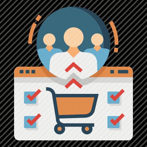 campaign, conversion, customer, marketing, segmentation, strategy, target icon