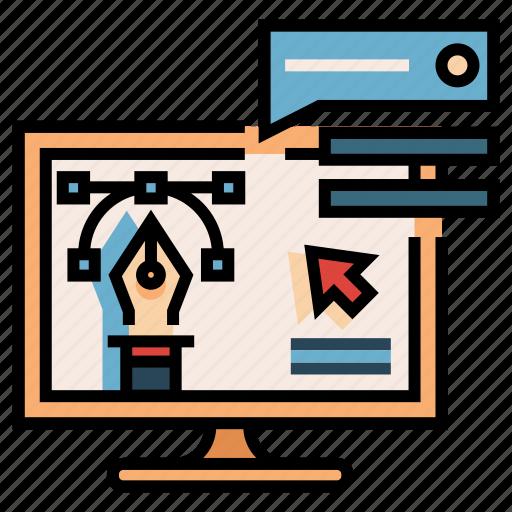 analytics, business, development, marketing, optimization, seo, website icon