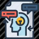 brainstrom, creative, idea, planning, solution icon