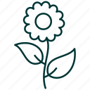 floral, florist, floristry, flower, flowers, shop icon