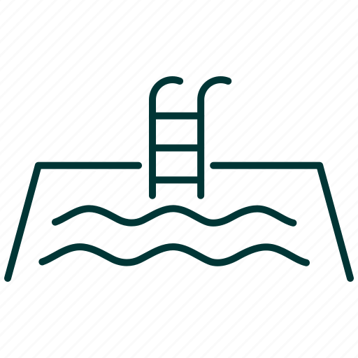 pond, pool, sport, swim, swimming, water icon