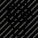 business, computer, conversion, funnel, logo, silhouette, teamwork icon